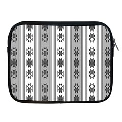 Folklore Pattern Apple Ipad 2/3/4 Zipper Cases