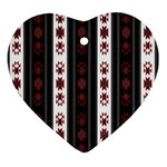 Folklore pattern Ornament (Heart) Front