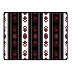 Folklore Pattern Fleece Blanket (small)