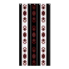 Folklore Pattern Shower Curtain 36  X 72  (stall)