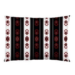 Folklore Pattern Pillow Case (two Sides)