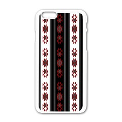 Folklore Pattern Apple Iphone 6/6s White Enamel Case