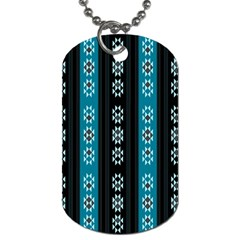 Folklore Pattern Dog Tag (one Side)
