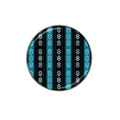 Folklore Pattern Hat Clip Ball Marker (10 Pack)