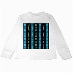 Folklore Pattern Kids Long Sleeve T Shirts