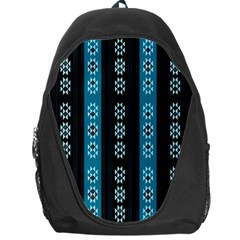Folklore Pattern Backpack Bag