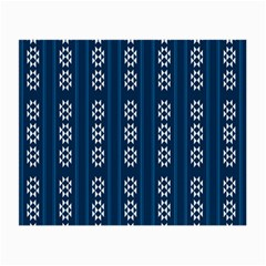 Folklore Pattern Small Glasses Cloth (2 Side)