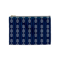 Folklore Pattern Cosmetic Bag (medium)