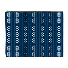 Folklore Pattern Cosmetic Bag (xl)