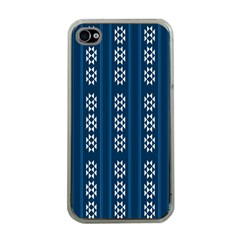Folklore Pattern Apple Iphone 4 Case (clear)
