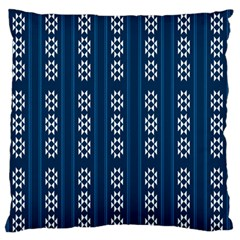 Folklore Pattern Standard Flano Cushion Case (one Side)