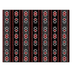 Folklore Pattern Rectangular Jigsaw Puzzl