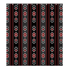 Folklore Pattern Shower Curtain 66  X 72  (large)