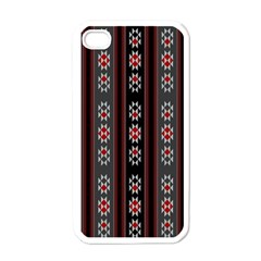 Folklore Pattern Apple Iphone 4 Case (white)