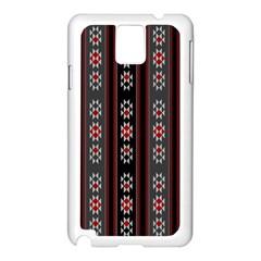 Folklore Pattern Samsung Galaxy Note 3 N9005 Case (white)