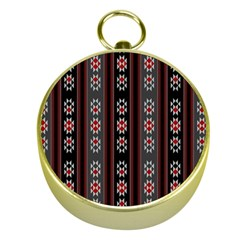 Folklore Pattern Gold Compasses