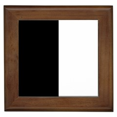 Black And White Framed Tiles