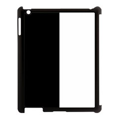 Black And White Apple Ipad 3/4 Case (black)