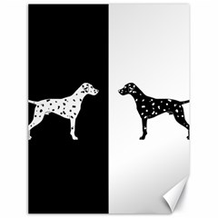 Dalmatian Dog Canvas 18  X 24