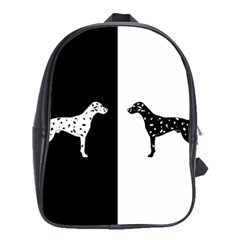 Dalmatian Dog School Bag (large)