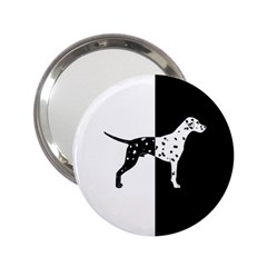 Dalmatian Dog 2 25  Handbag Mirrors