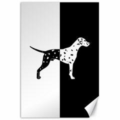 Dalmatian Dog Canvas 20  X 30