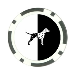 Dalmatian Dog Poker Chip Card Guard (10 Pack)
