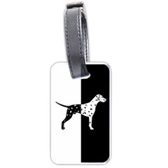 Dalmatian Dog Luggage Tags (two Sides)