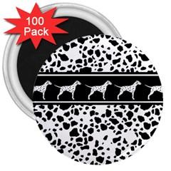 Dalmatian Dog 3  Magnets (100 Pack)