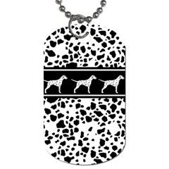 Dalmatian Dog Dog Tag (two Sides)