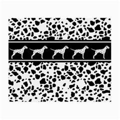 Dalmatian Dog Small Glasses Cloth