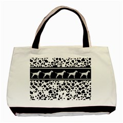 Dalmatian Dog Basic Tote Bag (two Sides)