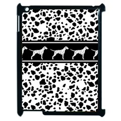 Dalmatian Dog Apple Ipad 2 Case (black)