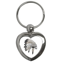 Indian Chef  Key Chains (heart)