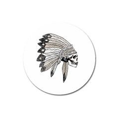 Indian Chef  Magnet 3  (round)