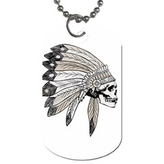 Indian Chef  Dog Tag (two Sides)