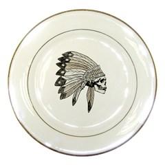 Indian Chef  Porcelain Plates