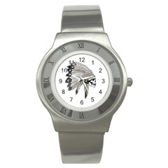 Indian Chef  Stainless Steel Watch