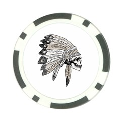 Indian Chef  Poker Chip Card Guard (10 Pack)
