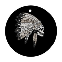 Indian Chef  Ornament (round)