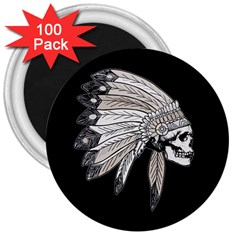 Indian Chef  3  Magnets (100 Pack)