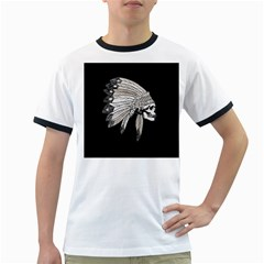 Indian Chef  Ringer T Shirts