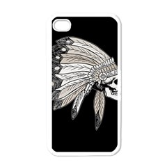Indian Chef  Apple Iphone 4 Case (white)