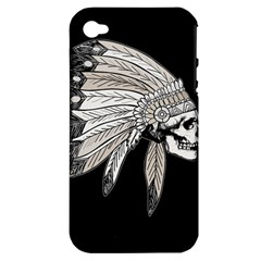 Indian Chef  Apple Iphone 4/4s Hardshell Case (pc+silicone)