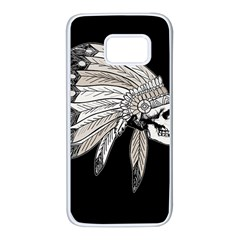 Indian Chef  Samsung Galaxy S7 White Seamless Case