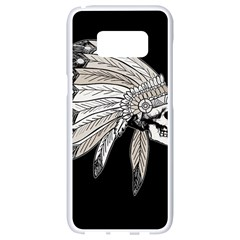 Indian Chef  Samsung Galaxy S8 White Seamless Case