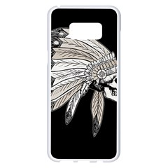 Indian Chef  Samsung Galaxy S8 Plus White Seamless Case