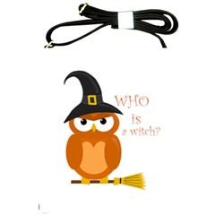 Halloween Orange Witch Owl Shoulder Sling Bags