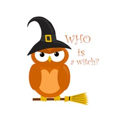 Halloween Orange Witch Owl 5 5  X 8 5  Notebooks