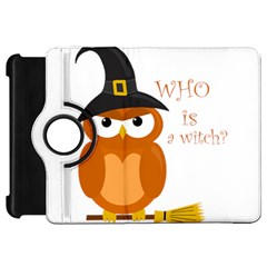 Halloween Orange Witch Owl Kindle Fire Hd 7